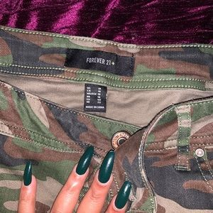 Camouflage Jeans Forever 21